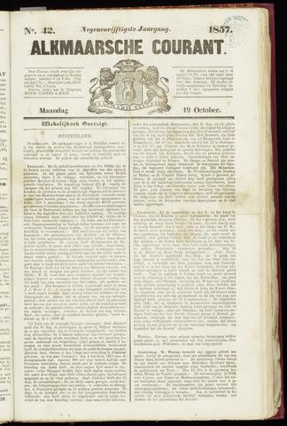 Alkmaarsche Courant 1857-10-19