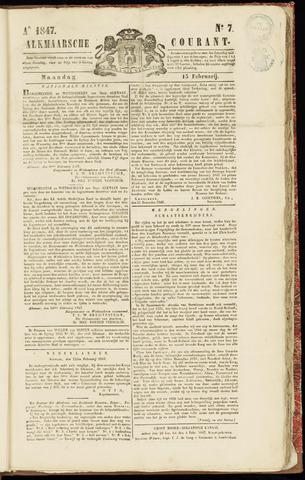Alkmaarsche Courant 1847-02-15