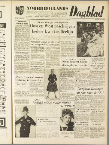 Noordhollands Dagblad : dagblad voor Alkmaar en omgeving 1959-07-28