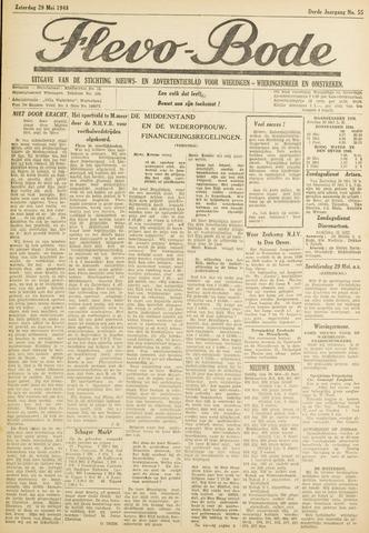 Flevo-bode: nieuwsblad voor Wieringen-Wieringermeer 1948-05-29
