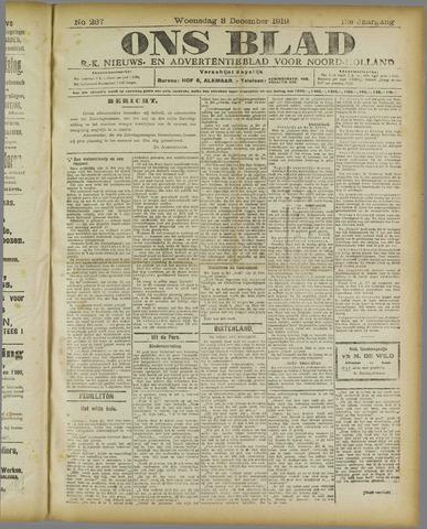 Ons Blad : katholiek nieuwsblad voor N-H 1919-12-03