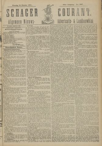 Schager Courant 1911-10-24