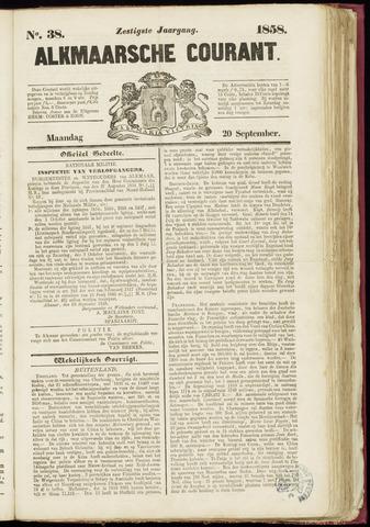 Alkmaarsche Courant 1858-09-20