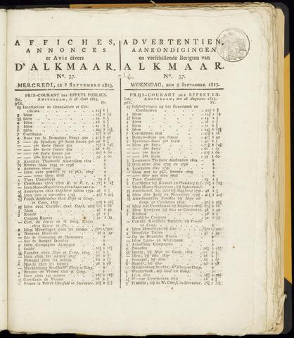 Alkmaarsche Courant 1813-09-08