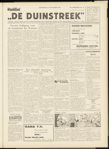 De Duinstreek 1964-11-12
