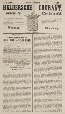 Heldersche Courant 1870-01-26