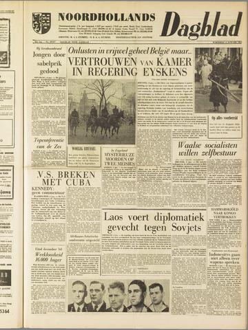 Noordhollands Dagblad : dagblad voor Alkmaar en omgeving 1961-01-04
