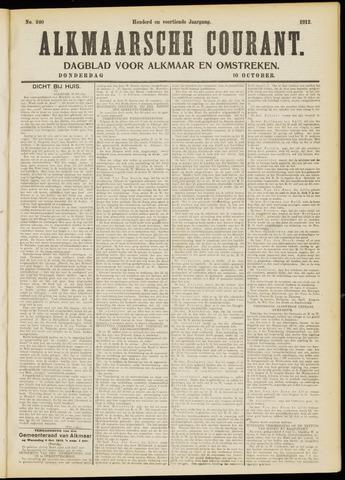 Alkmaarsche Courant 1912-10-10