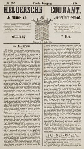 Heldersche Courant 1870-05-07