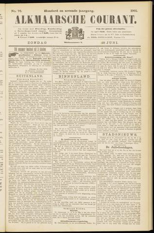 Alkmaarsche Courant 1905-06-25
