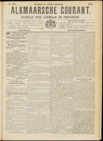 Alkmaarsche Courant 1906-12-18
