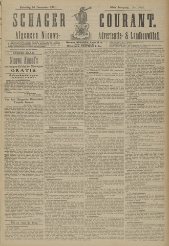 Schager Courant 1911-12-16
