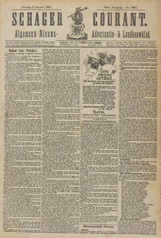 Schager Courant 1922