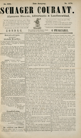 Schager Courant 1881-02-06