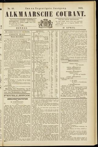 Alkmaarsche Courant 1889-04-21