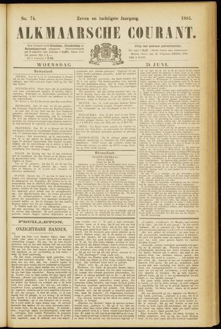 Alkmaarsche Courant 1885-06-24