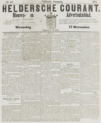 Heldersche Courant 1875-11-17