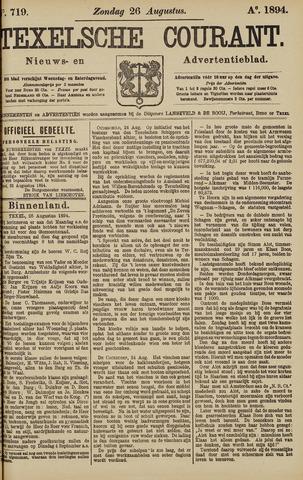 Texelsche Courant 1894-08-26