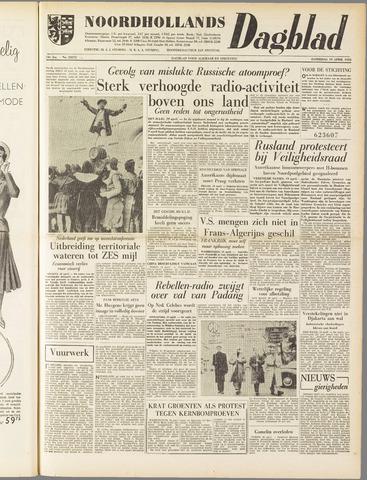 Noordhollands Dagblad : dagblad voor Alkmaar en omgeving 1958-04-19