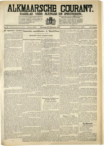 Alkmaarsche Courant 1937-09-20