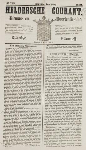 Heldersche Courant 1869-01-09