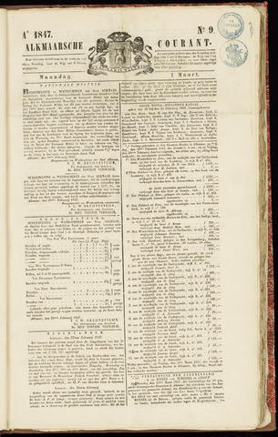 Alkmaarsche Courant 1847-03-01