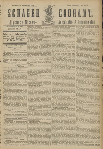 Schager Courant 1911-09-16