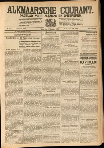 Alkmaarsche Courant 1934-01-20