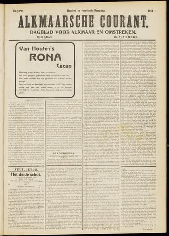 Alkmaarsche Courant 1912-11-26