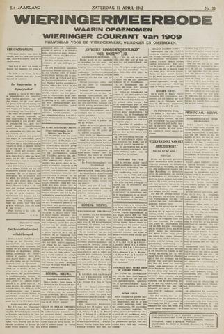 Wieringermeerbode 1942-04-11