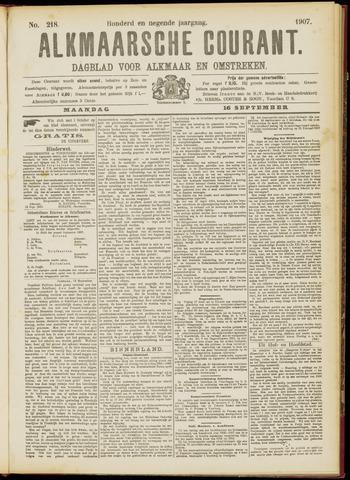 Alkmaarsche Courant 1907-09-16
