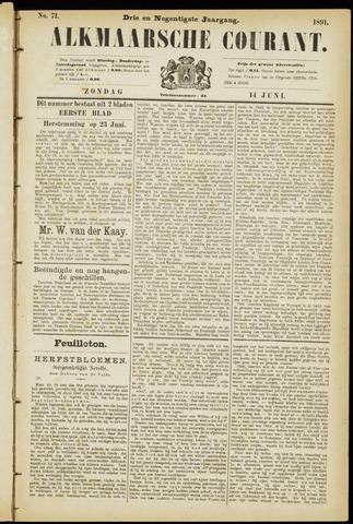 Alkmaarsche Courant 1891-06-14
