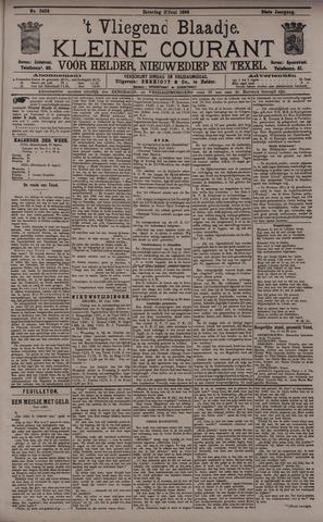 Vliegend blaadje : nieuws- en advertentiebode voor Den Helder 1896-06-27