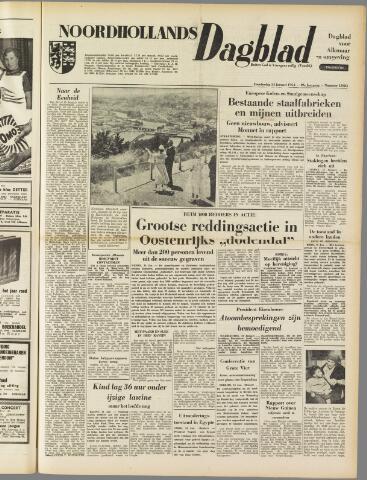 Noordhollands Dagblad : dagblad voor Alkmaar en omgeving 1954-01-14