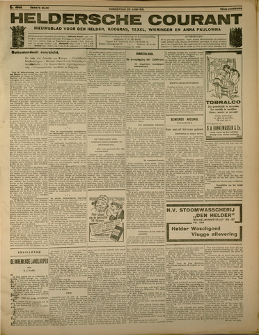 Heldersche Courant 1931-06-25