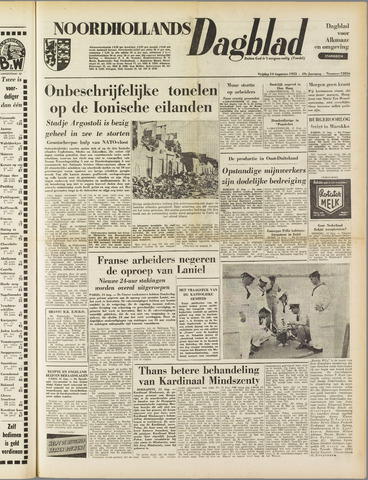 Noordhollands Dagblad : dagblad voor Alkmaar en omgeving 1953-08-14