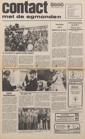 Contact met de Egmonden 1976-12-01