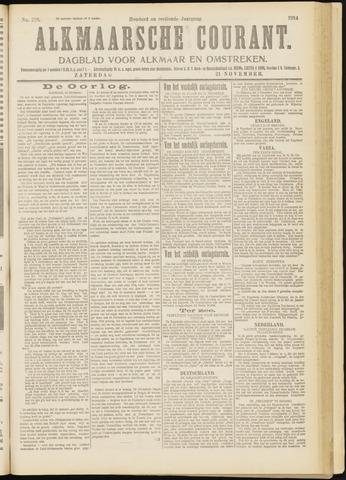 Alkmaarsche Courant 1914-11-21