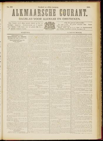 Alkmaarsche Courant 1909-11-05