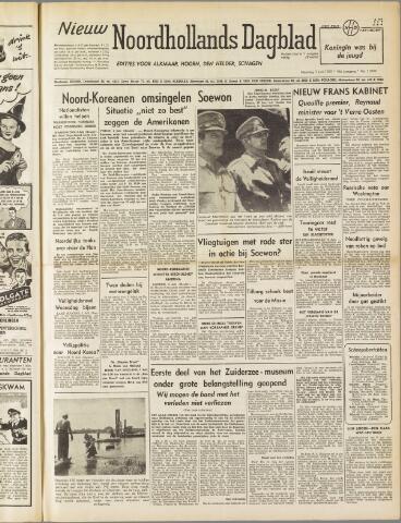 Nieuw Noordhollandsch Dagblad : voor Alkmaar en omgeving 1950-07-03