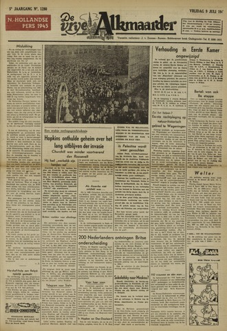 De Vrije Alkmaarder 1948-07-09