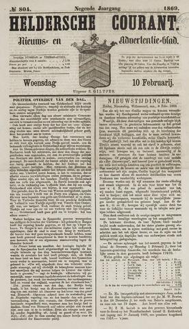Heldersche Courant 1869-02-10