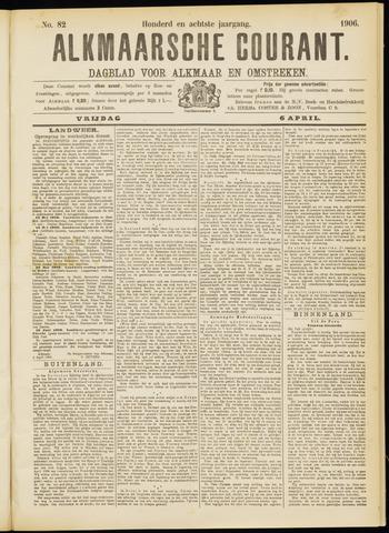 Alkmaarsche Courant 1906-04-06