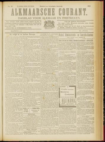 Alkmaarsche Courant 1918-04-27