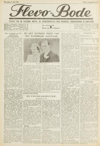 Flevo-bode: nieuwsblad voor Wieringen-Wieringermeer 1949-07-06