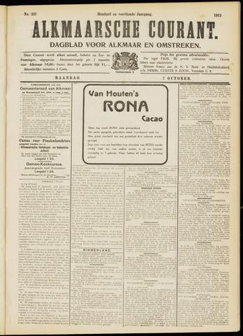 Alkmaarsche Courant 1912-10-07