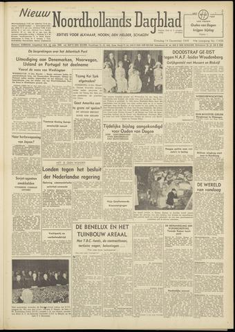 Nieuw Noordhollandsch Dagblad : voor Alkmaar en omgeving 1948-12-14