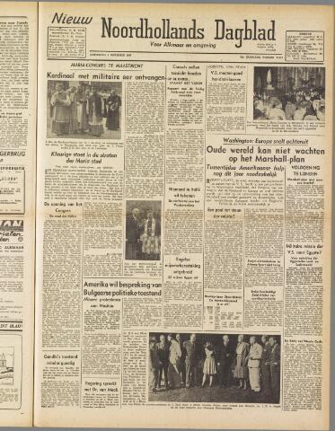 Nieuw Noordhollandsch Dagblad : voor Alkmaar en omgeving 1947-09-04