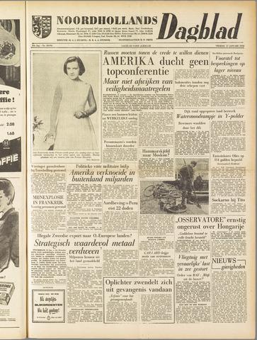 Noordhollands Dagblad : dagblad voor Alkmaar en omgeving 1958-01-17