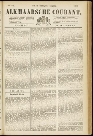 Alkmaarsche Courant 1882-09-20
